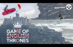 Kitesurfing England