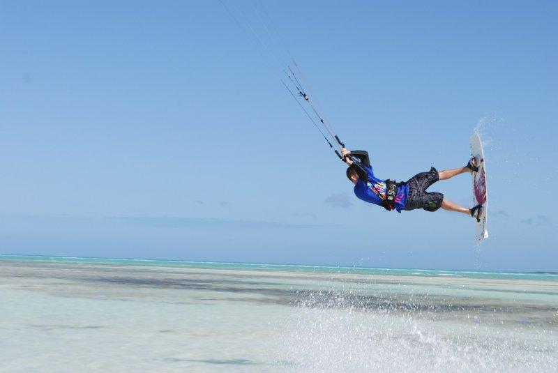 Kitesurfing Cuba