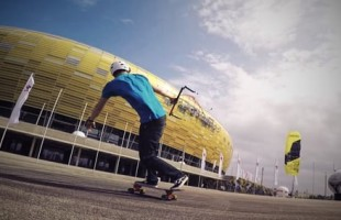 Kite Skateboarding