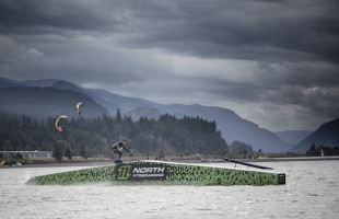 New Generation: Craig Cunningham in 2014 on the latest Hood River creation from Joby Cook. Lance Koudele photo