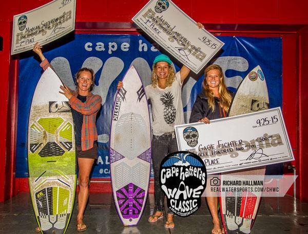 Cape Hatteras Wave Classic Women's Winners