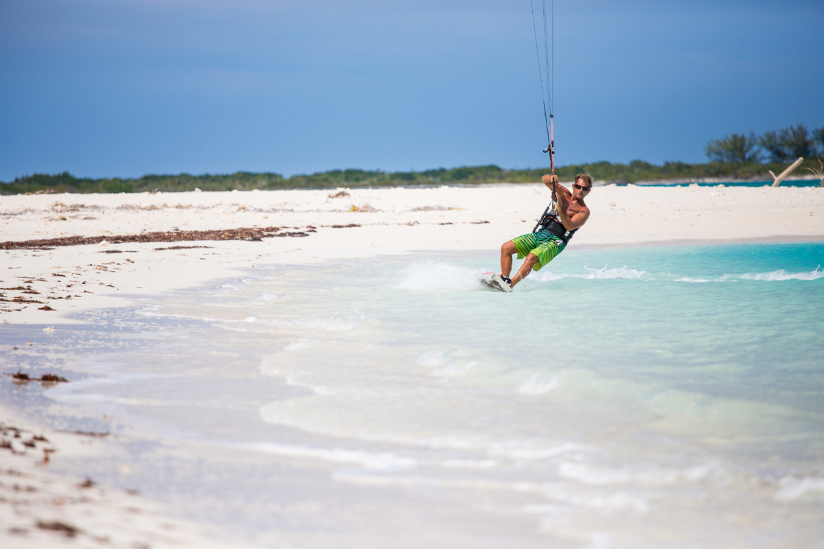 Daniel Medysky in Turks and Caicos. Pietras photo
