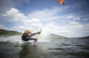 2015 Kiteboarder of the Year - Brandon Scheid  Lance Koudele photo