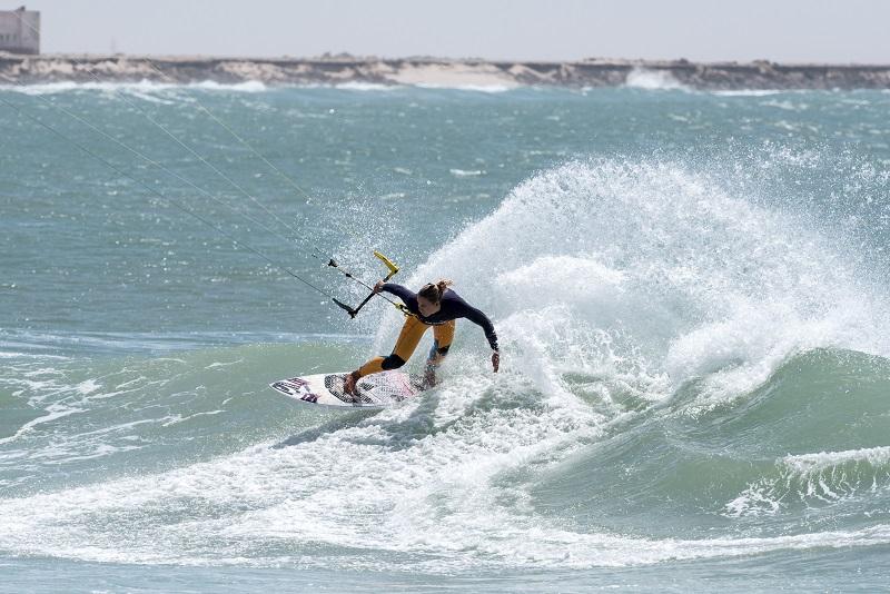 Wave Women champion  Jalou Langeree (NL) / Naish.