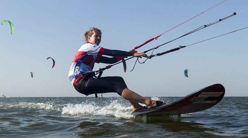 Katja Roose women's slalom world champion.