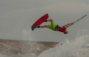 Freestyle Men winner Liam Whaley (ES) / Cabrinha