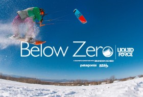 Below Zero snow kite film