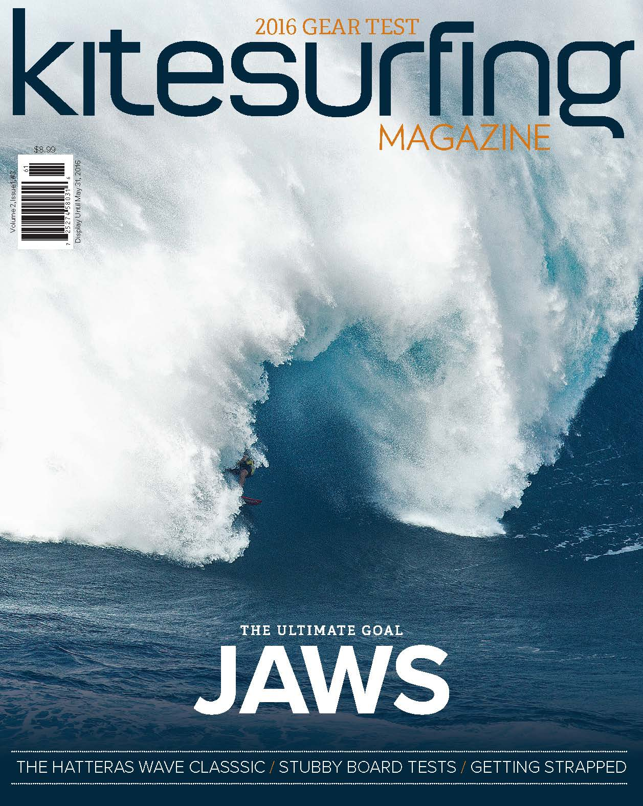 Kitesurfing Magazine Cover_#3
