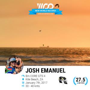 Woo Record Jump 27.5m
