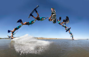 315 Kiteboarding Trick