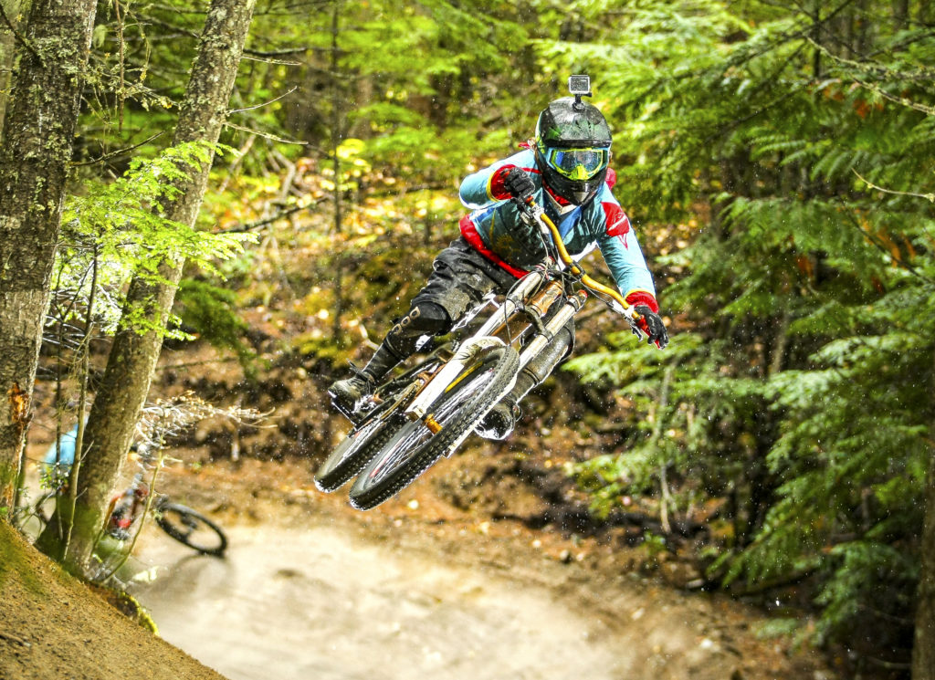 Jesse Richman at the Whistler bike park. Whistler Bike Park photo