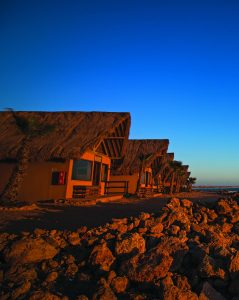The cabins at Westpoint Dakhla Hotel.